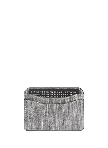 Marc Jacobs Marc Jacobs  Logolu Kadın Deri Kartlık 101547773 Gümüş